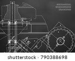 engineering backgrounds.... | Shutterstock .eps vector #790388698