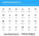 communication user interface ...