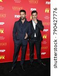 """Small photo of LOS ANGELES - JAN 8: Ricky Martin, Martim Yosef at the """"The Assassination of Gianni Versace: American Crime Story"""" Premiere Screening at the ArcLight Theater on January 8, 2018 in Los Angeles, CA"""