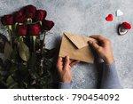 Valentines Day Man Hand Holdin...