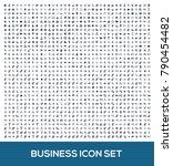 business icon set design | Shutterstock .eps vector #790454482
