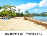 panorama of famous secluded... | Shutterstock . vector #790459672