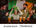 st patrick's day celebration  ... | Shutterstock . vector #790484632