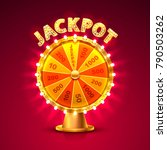fortune casino jackpot  modern... | Shutterstock .eps vector #790503262