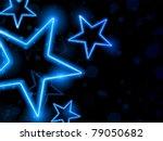 Vector   Glowing Neon Blue...