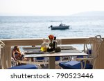 makarska croatia 23 june 2017... | Shutterstock . vector #790523446