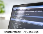 developing programming and... | Shutterstock . vector #790551355