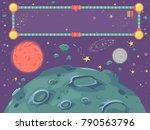 background illustration of... | Shutterstock .eps vector #790563796