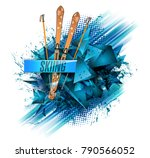 abstract colored backgrounds ... | Shutterstock .eps vector #790566052