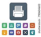 technology icons. vector...   Shutterstock .eps vector #790604602