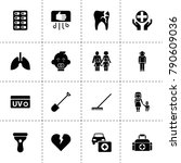 care icons. vector collection...