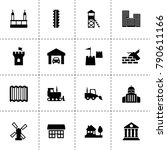building icons. vector...