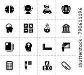 education icons. vector...