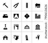 construction icons. vector...