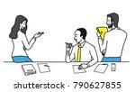 vector illustration group of...   Shutterstock .eps vector #790627855