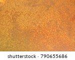 iron rust  steel rust  steel... | Shutterstock . vector #790655686