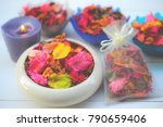 Potpourri is a mixture of dried ...