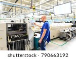 production and assembly of... | Shutterstock . vector #790663192