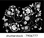 illustration with white...   Shutterstock .eps vector #7906777