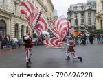 bucharest  romania   may 30 ... | Shutterstock . vector #790696228