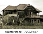 Abandoned Old House In Thailand
