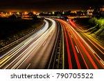 long exposure shot of an...   Shutterstock . vector #790705522