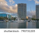 honolulu  hawaii  jan. 10  2018.... | Shutterstock . vector #790731205