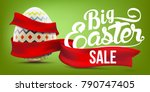 Easter Sale Advertising Banner...