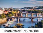 View Of The Vltava River And...