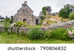 travel in france   typical... | Shutterstock . vector #790806832