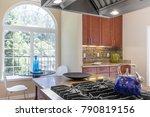 kitchen detail in luxury home... | Shutterstock . vector #790819156