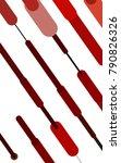 light red  yellow vertical... | Shutterstock . vector #790826326
