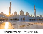 sheikh zayed grand mosque ... | Shutterstock . vector #790844182