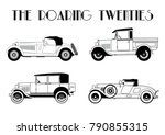 Vector The Roaring Twenties Cars