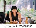 candid portrait of an... | Shutterstock . vector #790881535