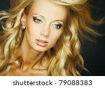 amazing portrait of beautiful... | Shutterstock . vector #79088383