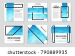 abstract vector layout... | Shutterstock .eps vector #790889935