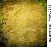 grunge wall  highly detailed...   Shutterstock . vector #790917895