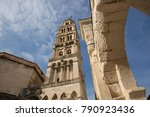 bell tower of cathedral of... | Shutterstock . vector #790923436