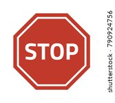 stop sign stop sign on white