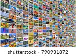 big multimedia video and image... | Shutterstock . vector #790931872