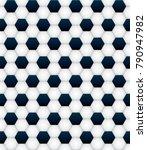 a seamless tiled soccer ball... | Shutterstock . vector #790947982