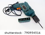 professional working tools | Shutterstock . vector #790954516