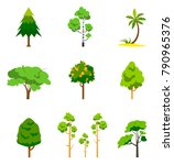 Different Tree Set  Vector...