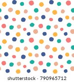 vector seamless pattern with... | Shutterstock .eps vector #790965712