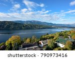 early morning in the spa town... | Shutterstock . vector #790973416