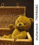 Cuddly Teddy Bear Sitting In A...