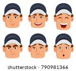 professional auto mechanic in...   Shutterstock .eps vector #790981366