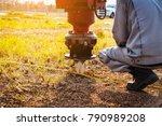 technician installing ground...