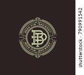 a beautiful beer emblem.... | Shutterstock .eps vector #790991542